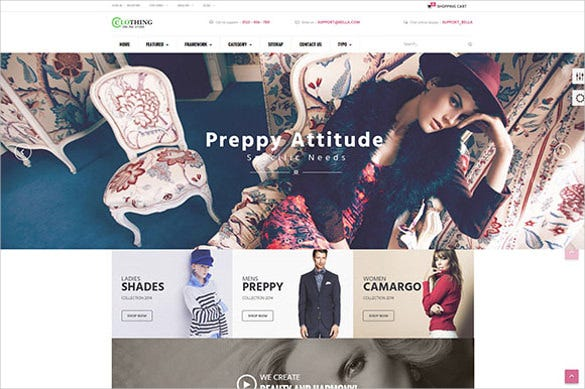 retail boutique prestashop theme