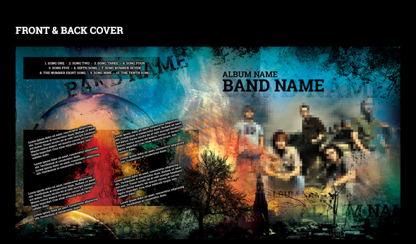 music format cd format label template download