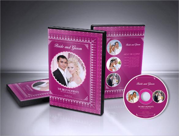 wedding format cd label