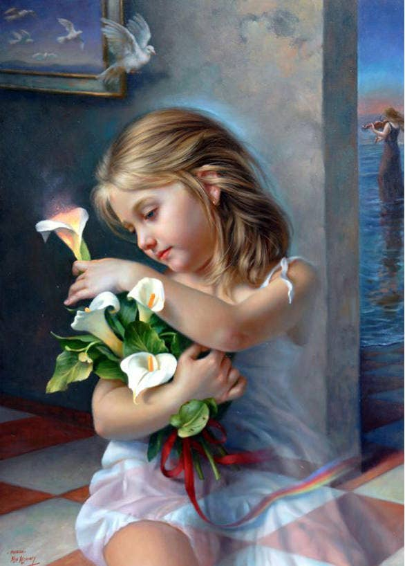 surreal painting by alex alemany