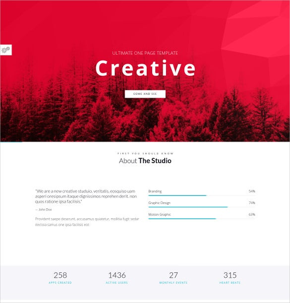 responsive multipurpose business one p age wordpress website theme