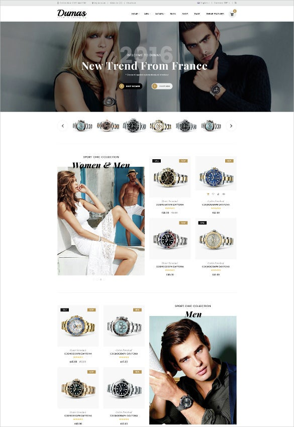 multipurpose retail ecommerce psd template