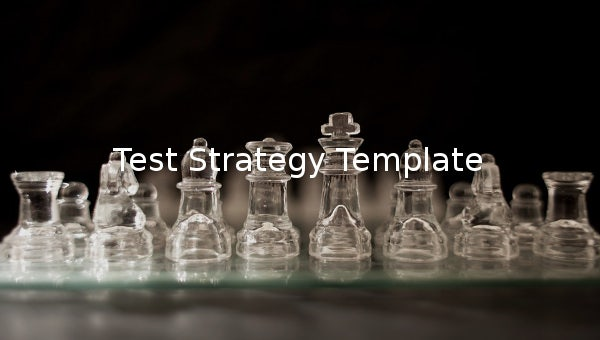test strategy template 1