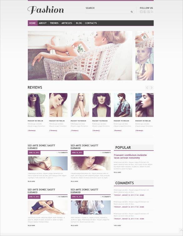 beautiful retail apparel wordpress theme