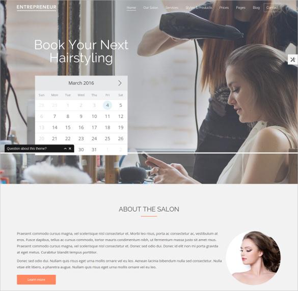 retail business wordpress theme