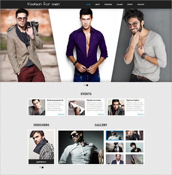 retail apparel responsive joomla template