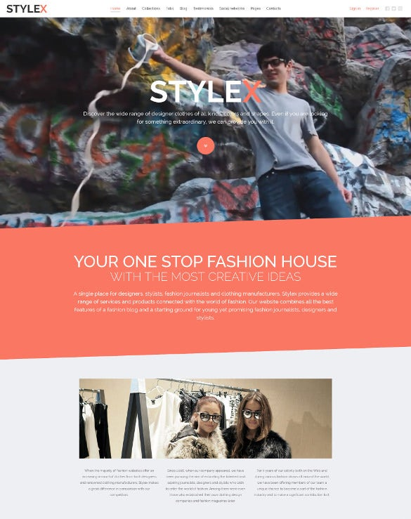 retail apparel responsive joomla template1