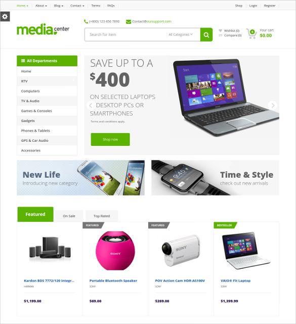 retail multipurpose drupal theme