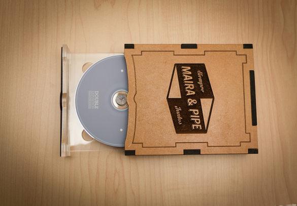 wedding example dvd case label