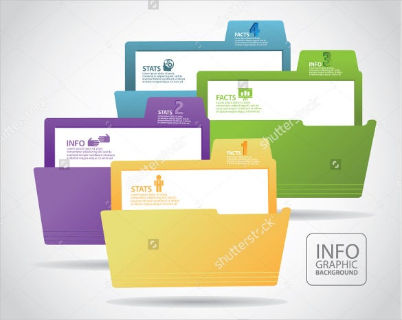 sample file folder label template