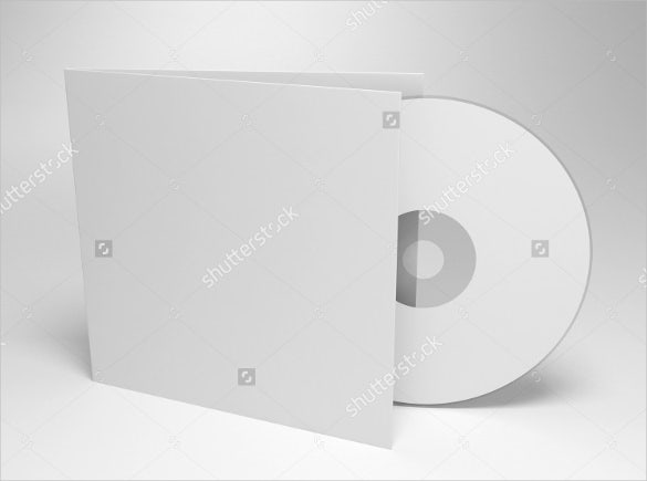 blank compact cd case template