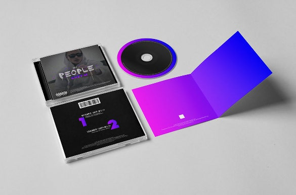 cd case indesign template download