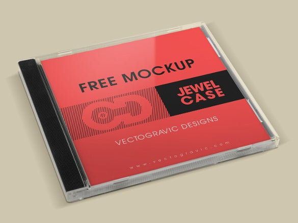 free cd jewel case template download