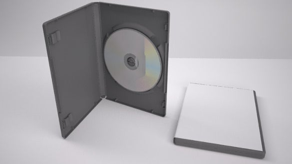 simple dvd case template download