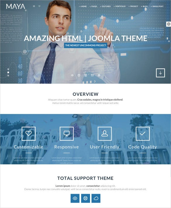 30+ Dynamic PHP Website Themes & Templates | Free & Premium Templates