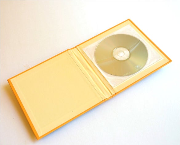 yellow colour dvd case template download