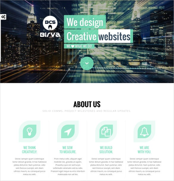 creative personal one page joomla templat