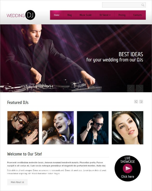 personal page drupal template1