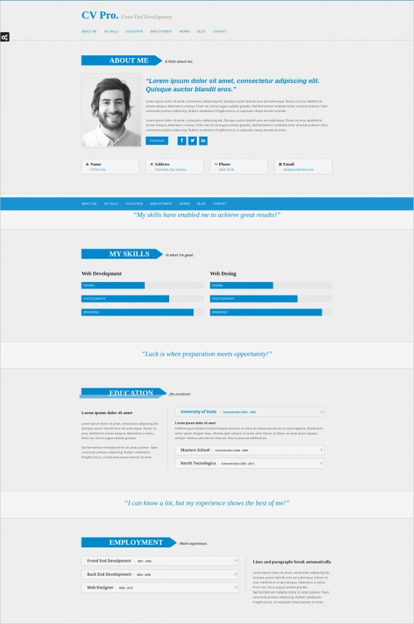 personal responsive and retina drupal theme