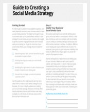 Creating A Social Media Strategy