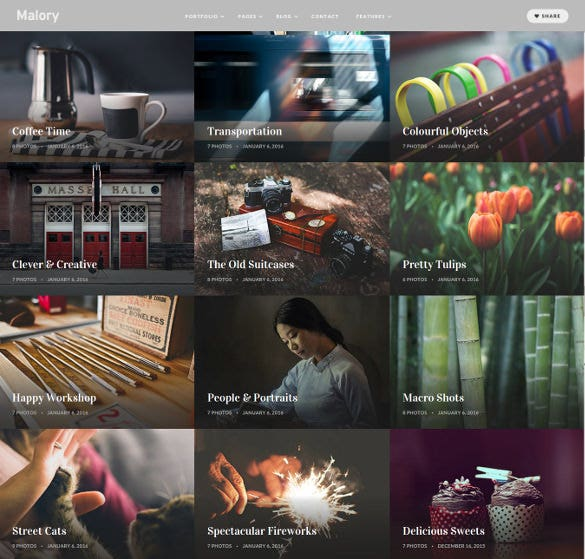 photography magazine wordpress bootstrap blog theme