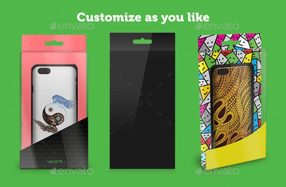 simple mobile case template download