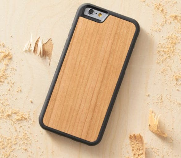 iphone 6s wood case template