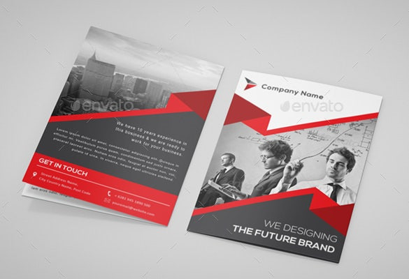 Printable BiFold Brochure Template 67 Free Word PSD PDF EPS – Illustrator Brochure Template