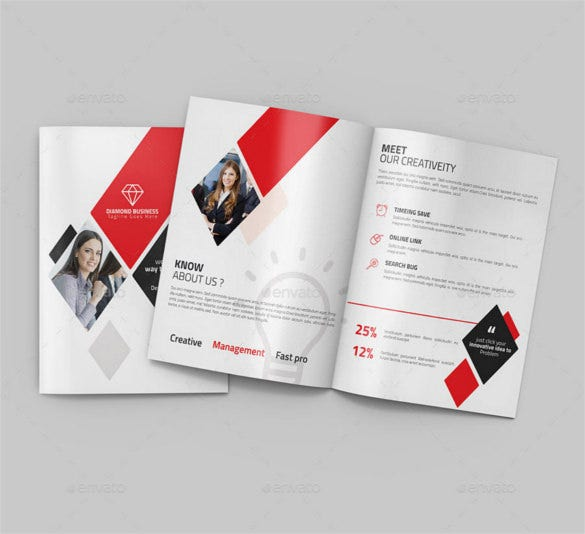 awesome bi fold brochure template photoshop psd