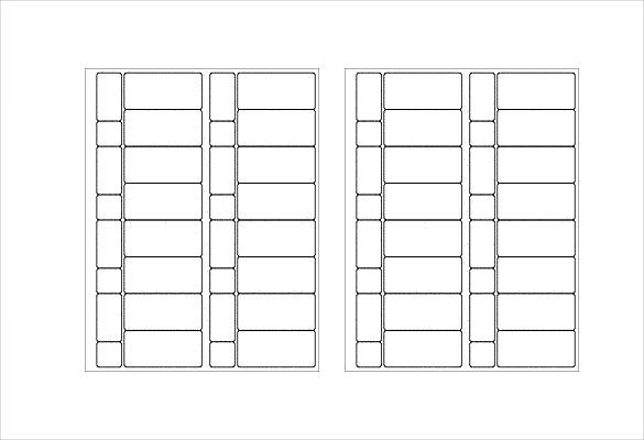 sample free lable template in vertical and horizontal style template