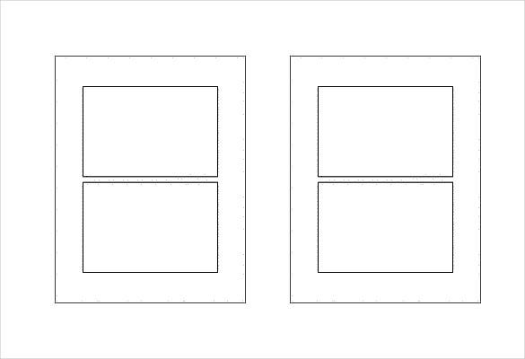 Free Label Templates Free Sample Example Format Download - Rectangle label template
