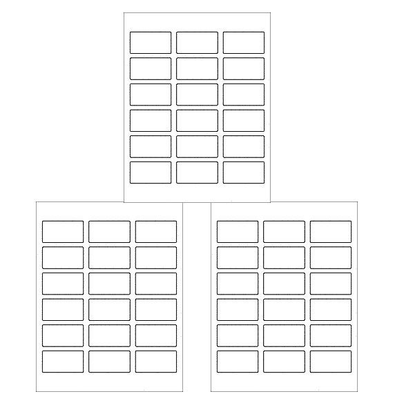 example rectangle free label template download
