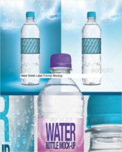 Fresh Sample Water Bottle Label
