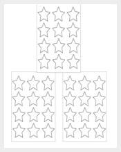 Stars Free Label