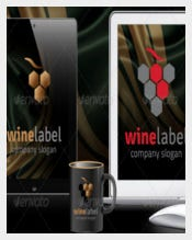 Wine Label Format