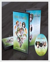 Wedding DVD Cover Label