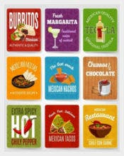 Mexican Food Labels