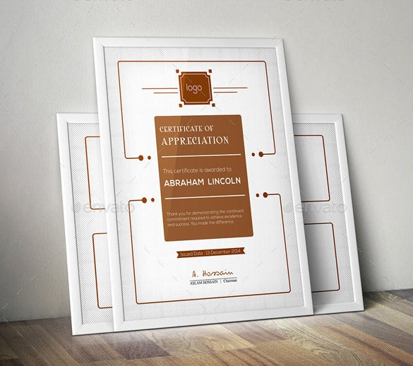 multipurpose certificates bundle photoshop psd format