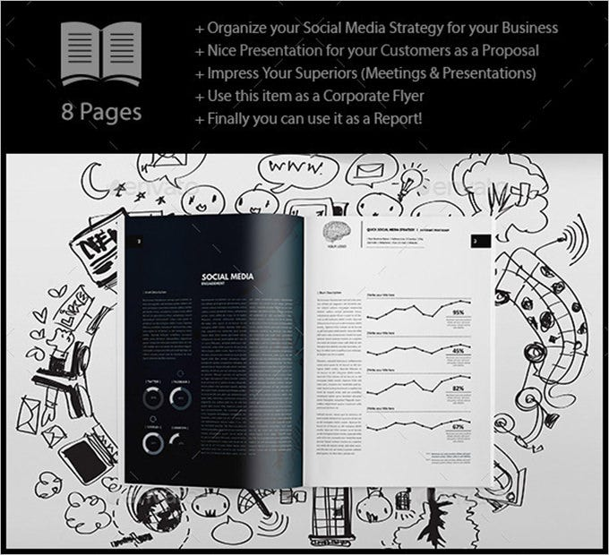 free social media strategy template pdf download