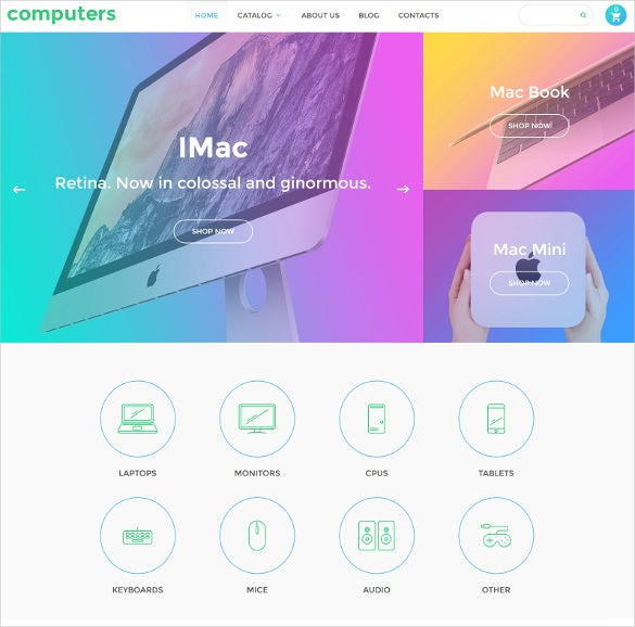 computers virtuemart ecommerce template