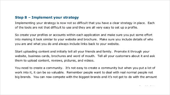 developing a social media strategy1