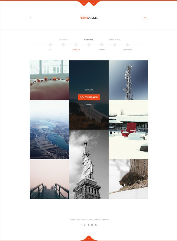 personal life blog html5 template