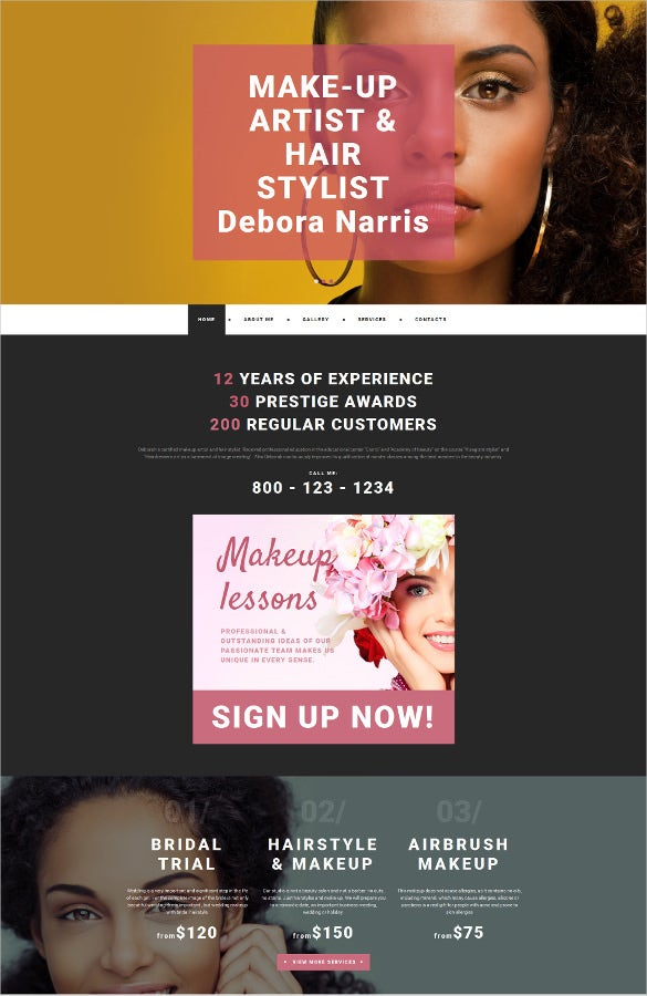 personal moto cms 3 html5 template