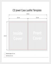 CD Slim Jewel Case PDF Template Free