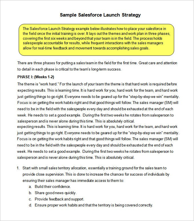 free download sales strategy template pdf