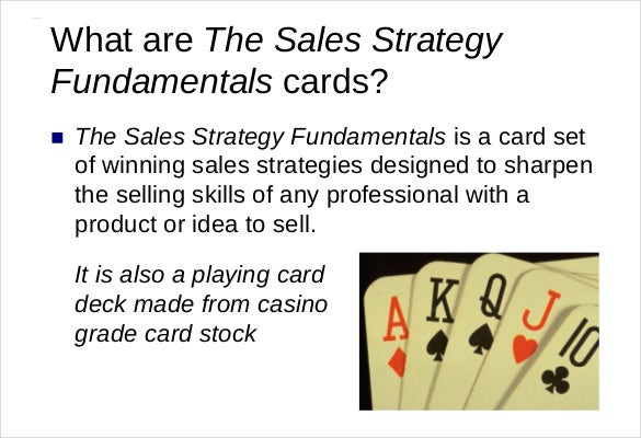 the sales strategy fundamentals1