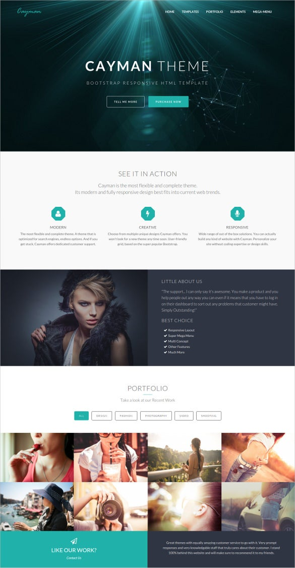 personal html bootstrap theme