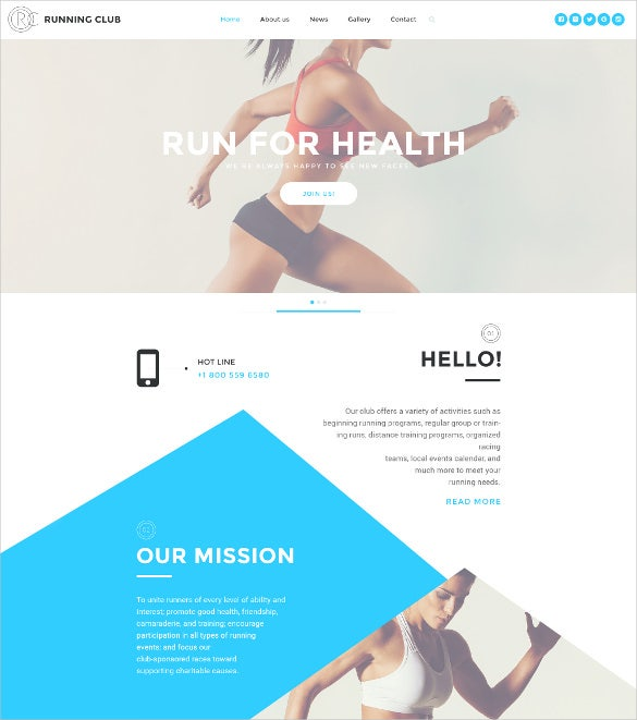 rc html5 website template