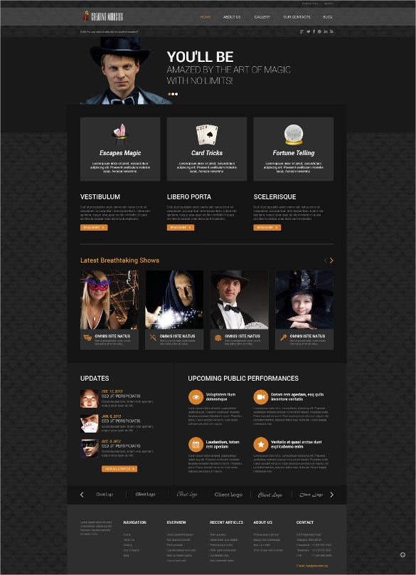 personal page responsive wordpress bootstraptheme