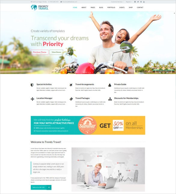priority multipurpose wordpress html5 theme